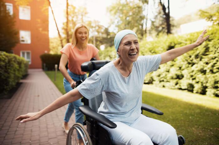 Ausflug mit Betreuerin